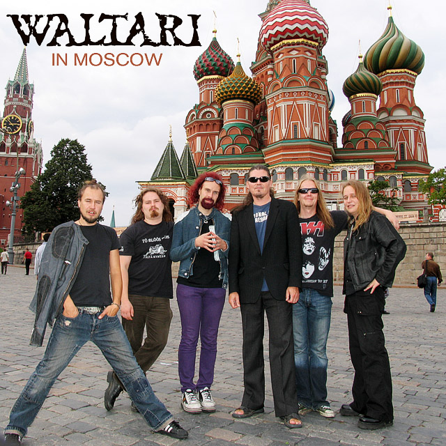 Waltari in Moscow